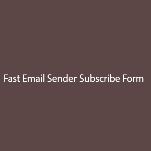 Fast-Email-Sender-Subscribe-Form