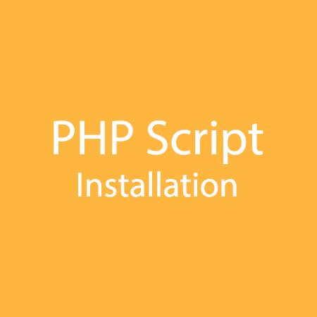 PHP-Script-Installation